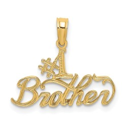 D3982-14K #1 Brother Charm